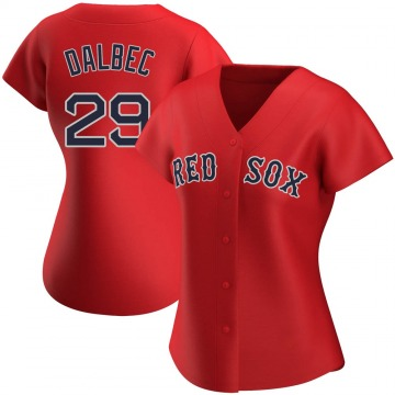 Authentic Bobby Dalbec Women's Boston Red Sox Red Alternate Jersey